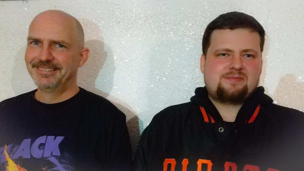 Marc Hellekes und Phillipp Martinez
